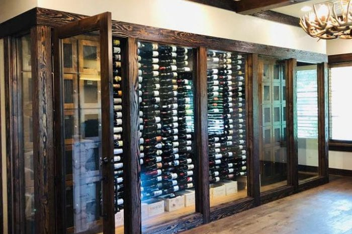 Custom Wine Racking
